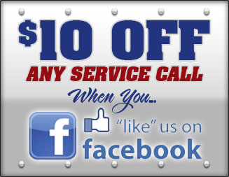 Save $10 on any locksmith service call when you Like Us on Facebook.